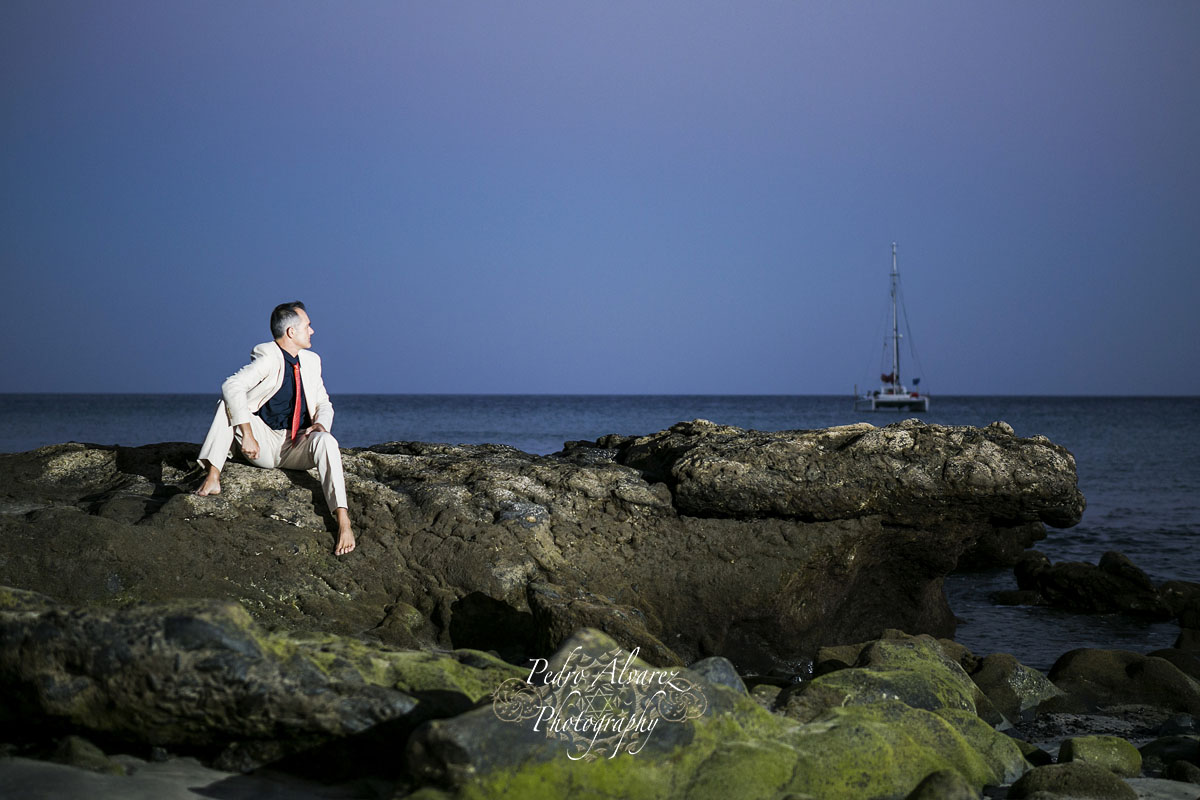 Post boda en la playa de olivia y ra l de las palmas a fuerteventura fotos bodas fot grafos - Fotografo las palmas ...