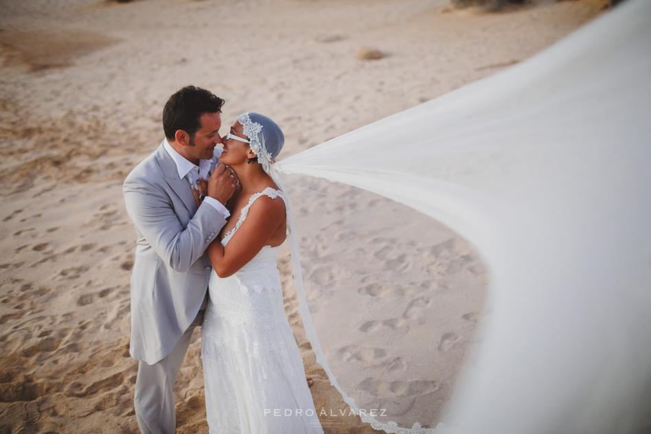 Fotos de bodas en La Graciosa, fotografía de boda la Graciosa