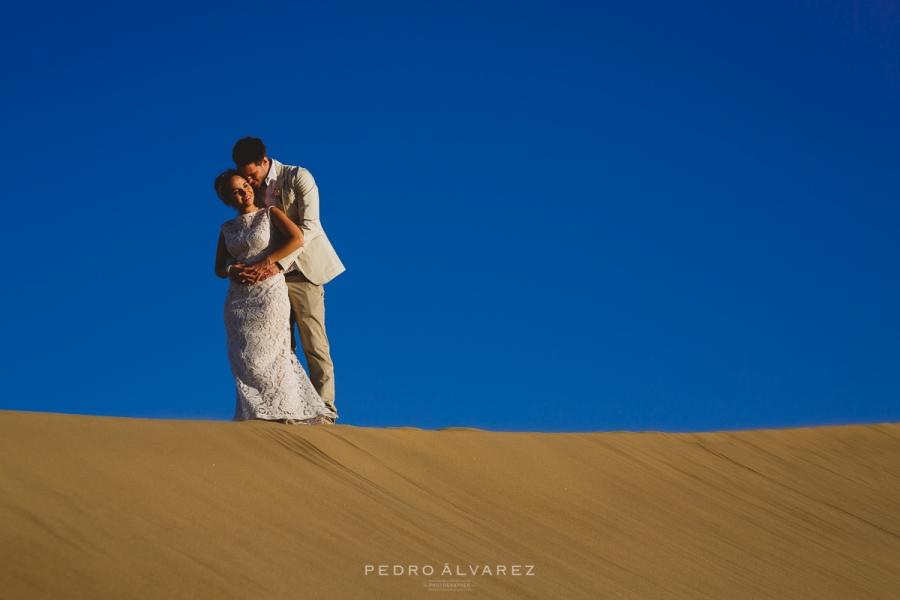 Reportaje de boda en gran canaria dunas de maspalomas - Fotografo las palmas ...