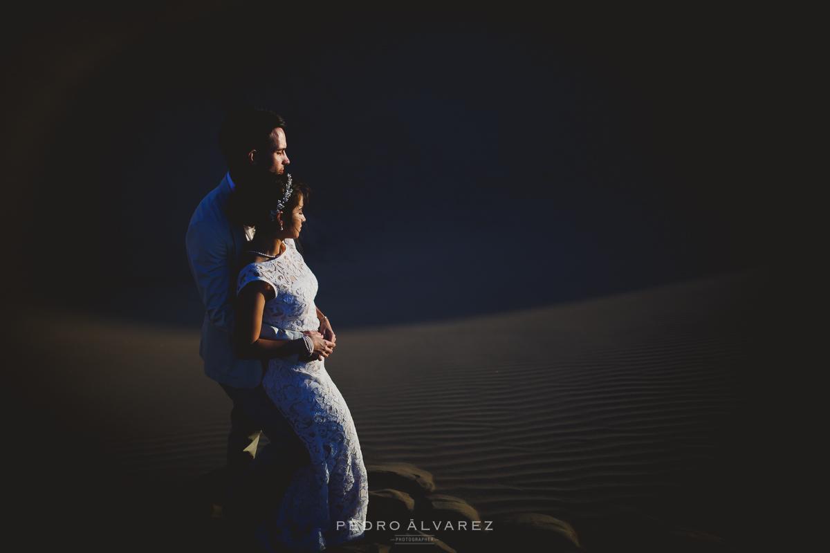 Reportaje de boda en gran canaria dunas de maspalomas - Fotografo gran canaria ...