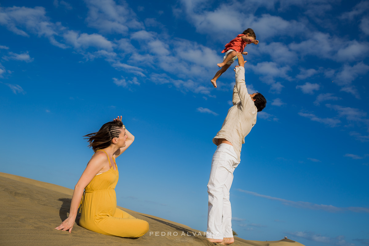 Sesi n de familia y maternidad en gran canaria dunas de - Fotografo gran canaria ...