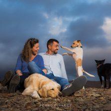 Fotos de pareja y mascotas en Las Palmas de Gran Canaria