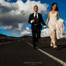 Fotos de boda en Lanzarote, post boda en Lanzarote Canarias