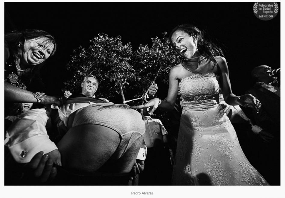 Premio nacional de fotografía de boda para Pedro Álvarez
